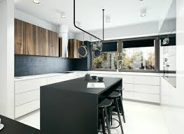 modern kitchen small space clean modern kitchen interior design ideas