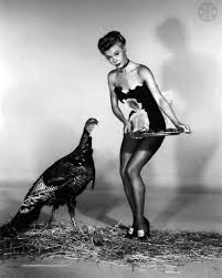 turkey vintage thanksgiving pinups