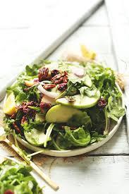 apple pecan arugula salad minimalist baker recipes