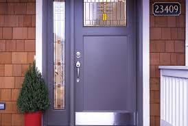 Front Door A Front Door Color Curb Appeal With A