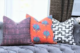 Peter Dunham by Peter Dunham Pillow Cover Addis In Midnight Pasha Purple
