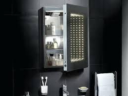 Bathroom Mirror Cabinet With Shaver Socket Bathroom Mirror With Storage Robys Co