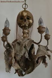 skeleton chandelier this is halloween pinterest skeletons