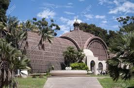 Balboa Park Botanical Gardens by Botanical Garden Building In Balboa Park In San Diego California