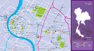 bangkok map tourist attractions pin bangkok tourism map on new zone