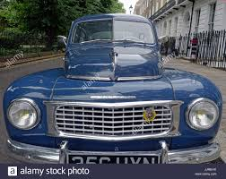 classic volvo classic volvo pv544 car from 1950s 1960s london stock photo