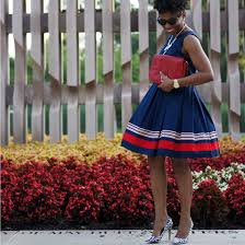 red white and blue economy of style