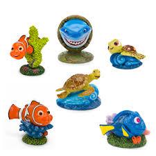 disney s finding nemo mini resin aquarium ornament pets at home