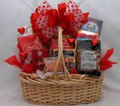 valentines baskets snack basket a gift basket