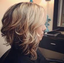 stacked hair longer sides best 25 medium curly bob ideas on pinterest medium curly