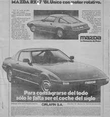 mazda argentina oficial el mazda rx 7 de 1981 autos y motos taringa