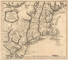 Map Of Colonies 1760 To 1764 Pennsylvania Maps