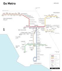 Metro Rail Map by Attention Angeleno U0027s Metro Red Line Extends Hours Until 3 A M On