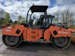 hamm hd120hv tandem roller year 2005 original paint dawood