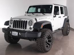 jeep sahara 2016 white 2016 jeep wrangler unlimited rubicon in texas for sale 43 used