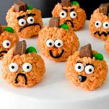 Rice Crispy Treat Pumpkins Rice Krispies Gallery Foodgawker