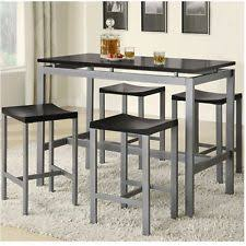 montego counter height table atlantic furniture montego bay 5 piece pub table set ebay