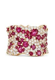 natural ruby rings images Effy gemma 14k rose gold natural ruby and diamond ring 3 86 tcw jpg