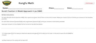 math grade 6 fractions worksheets and resources singapore math