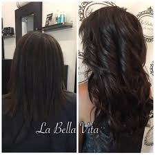 Before After Hair Extensions by Salon Palm Harbor Photo Gallery Pictures