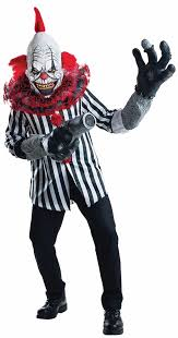 Halloween Scary Costumes Evil Scary Clowns Scary Clown Costumes Props Masks