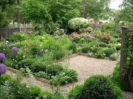backyard flower garden home design ideas