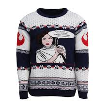 sweater wars official wars princess leia jumper sweater