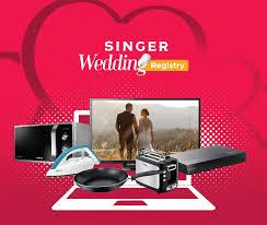 online wedding registries singer launches online wedding registry happysrilankans