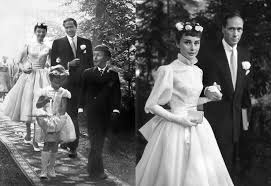 hepburn style wedding dress wedding dresses of style icons di grace
