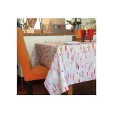 nappe en coton enduit nappe coton enduit poissons soleil 160x200 fleur de soleil
