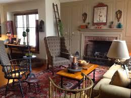 farmhouse u2013 interior u2013 family room done in colonial style