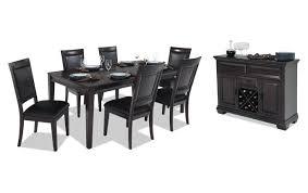 Mybobs Dining Rooms Matrix 7 Dining Set Bob S Discount Furniture