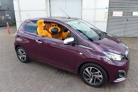 peugeot purple peugeot 108 daily record