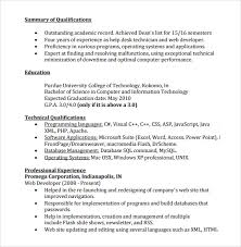 entry level it resume sle entry level resume 8 documents in pdf word