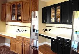 staining kitchen cabinets darker before and after updating oak kitchen cabinets before and after 11