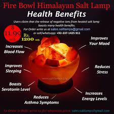 Himalayan Salt Lamp Fire Bowl Salt Lamp