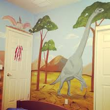 Dinosaur Wall Mural Dinosaur Mural Murals For Kids Dinosaur - Kids dinosaur room