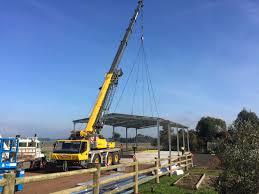 multi crane construction project colac colac mobile crane hire