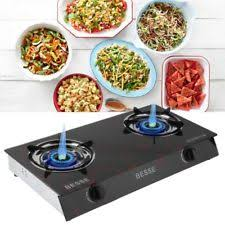 Two Burner Gas Cooktop Propane Two Burner Cooktop Double Burner Square Gas Stove Camp Chef