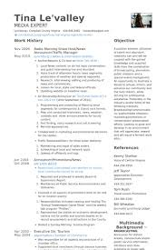 Host Resume Sample by Traffic Manager Resume Host Resume Samples Visualcv Resume Samples