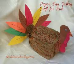 paper bag turkey craft ye craft ideas