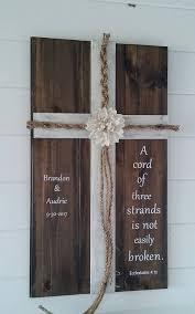 three cords wedding ceremony wedding cross unity cords a cord of three strands