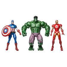 the marvel figure gift set large
