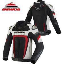 leather motorcycle racing jacket summer motorcycle jacket promotion shop for promotional summer