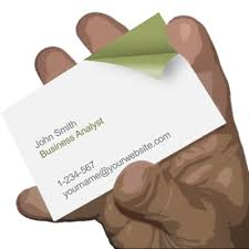 turn the page business card powerpoint