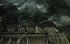 haunted house wallpaper desktop wallpapersafari