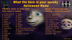 hey fj whats your spoopy name