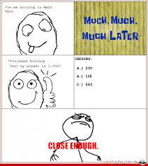Funny Stick Figure Memes - math rage comics rubylili1