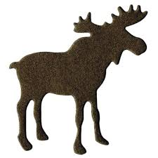 moose template lifestyle crafts die cutting template moose moose cuttings