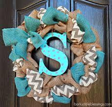 Diy Wreaths Barksdale Blessings Diy Burlap Ribbon Wreath Pinworthy Projects